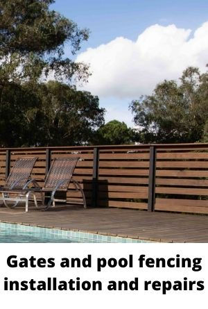 Gates and pool fencing installation and repairs