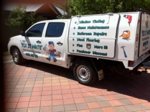 Our Perth Handyman Ute