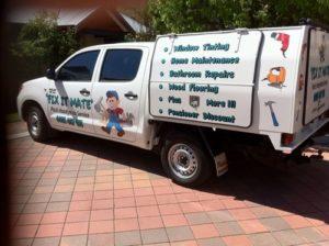 Our Perth Handyman Ute